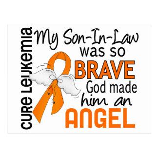Angel 2 Son-In-Law Leukemia Postcard