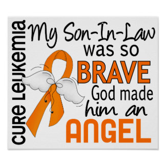 Angel 2 Son-In-Law Leukemia Posters
