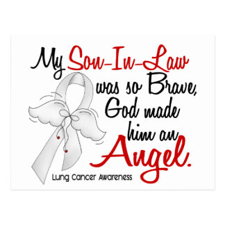 Angel 2 Son-In-Law Lung Cancer Postcard