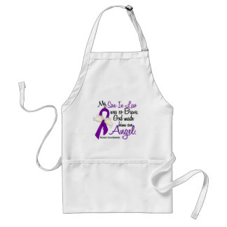 Angel 2 Son-In-Law Pancreatic Cancer Aprons