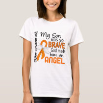 Angel 2 Son Leukemia T-Shirt