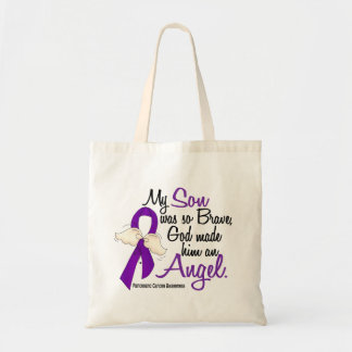 Angel 2 Son Pancreatic Cancer Tote Bag