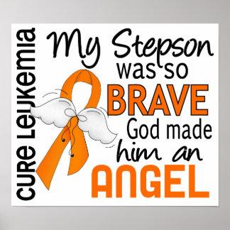 Angel 2 Stepson Leukemia Print