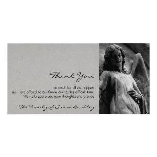 Angel 2 Sympathy Thank You Card
