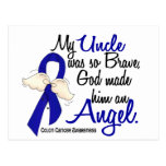 Angel 2 Uncle Colon Cancer Post Cards