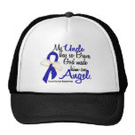 Angel 2 Uncle Colon Cancer Trucker Hat