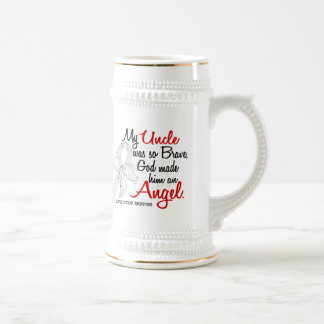 Angel 2 Uncle Lung Cancer Mugs