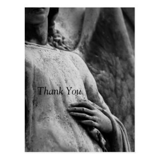 Angel 3 Christian Memorial Sympathy Thank You Postcard