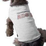 Ángel 3 de la mamá de la ropa del mascota de la ca ropa de perro
