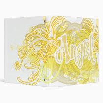 ANGEL 3 RING BINDER