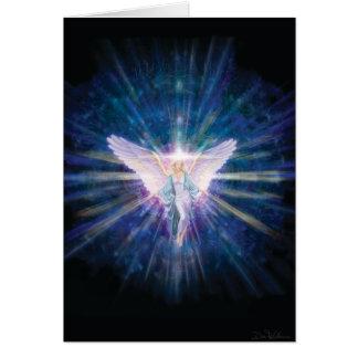Angel 5 Blue Card