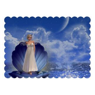 angel-6 5x7 paper invitation card