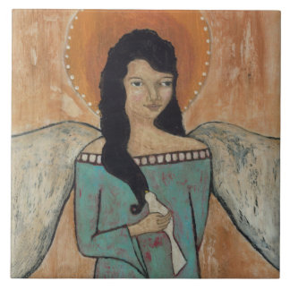 """Angel 6"""" Ceramic Tile"""
