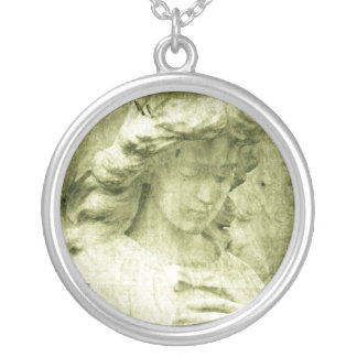 Angel 6 silver plated necklace