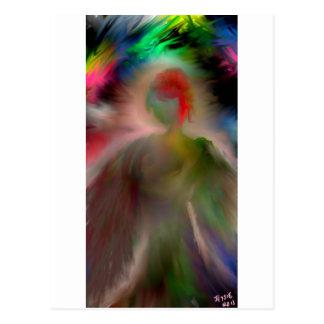 Ángel abstracto postales
