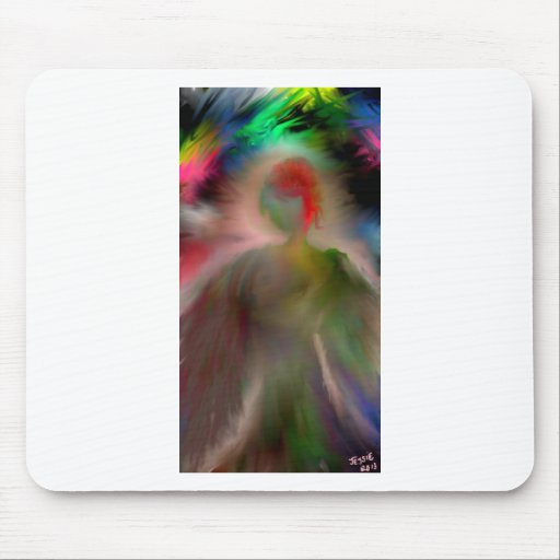 Ángel abstracto tapete de raton