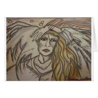 ANGEL ACHE, LOVESICK ANGEL CARD