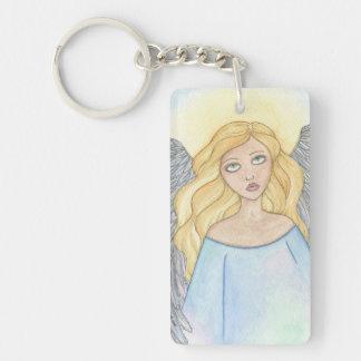 Angel Acrylic Key Chain