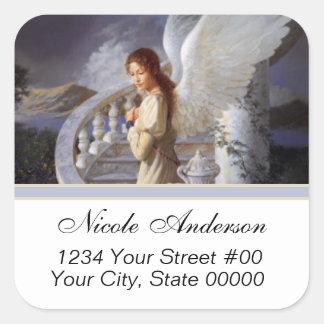 Angel Address Sticker