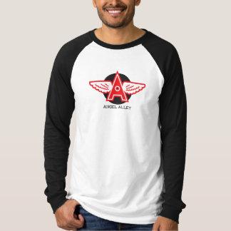 Angel Alley Canvas Long Sleeve Raglan T-shirt