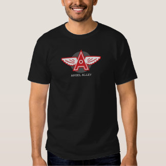 Angel Alley Men's Basic Dark T-Shirt