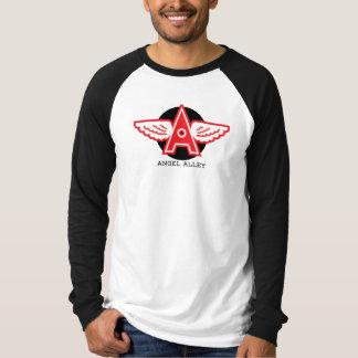 Angel Alley Men's Canvas Long Sleeve Raglan T Shirt