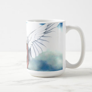 Angel Amongst The Clouds Coffee Mugs