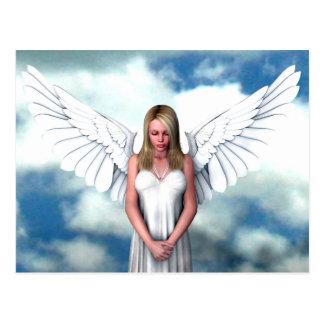 Angel Amongst The Clouds Postcard