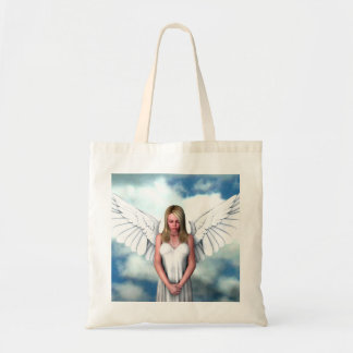 Angel Amongst The Clouds Tote Bag