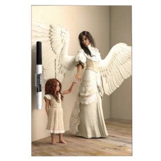 Angel and a kid Dry-Erase board