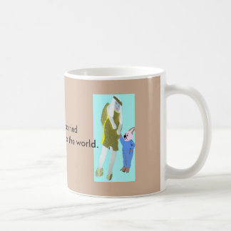 angel and a little rabbit from eBooks Coffee Mug