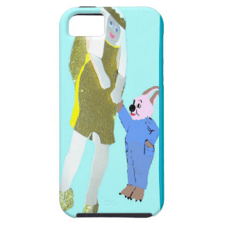 angel and a little rabbit from eBooks iPhone SE/5/5s Case