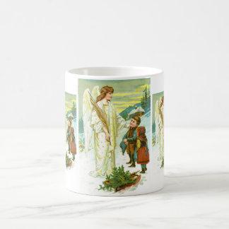 Angel and children coffee mug