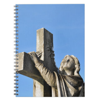 Angel and cross notebook
