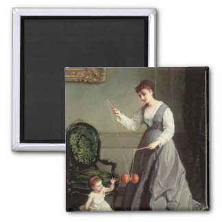 `Angel and Devil' or `Playing Diabolo Magnet