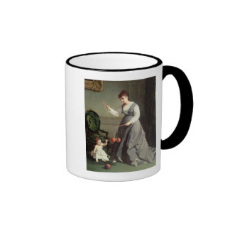`Angel and Devil or `Playing Diabolo Mugs