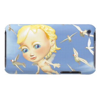 Angel and Doves, CG, 3D, Illustration, Low Angle iPod Touch Case-Mate Case