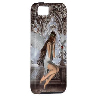 Angel and Her Dove iPhone SE/5/5s Case