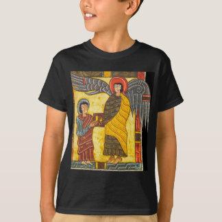Angel and John Apocolypse 2 Illuminated Manuscript T-Shirt