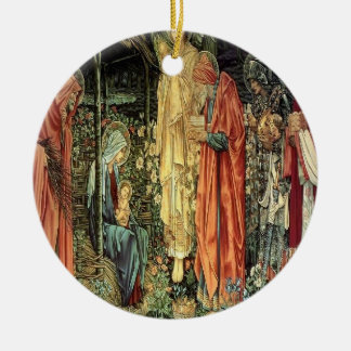 Angel and The Three Kings Ornament
