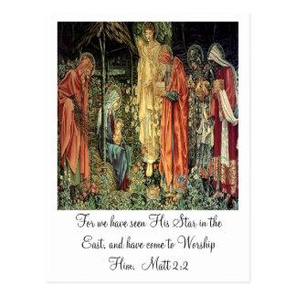 Angel and The Three Kings Postcard