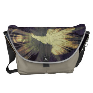 Angel and the universe courier bags