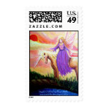 Angel and Unicorn Stamps