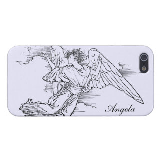 Angel and Venus Customizable Cover For iPhone SE/5/5s