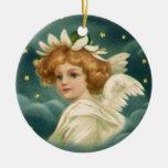 Ángel angelical del navidad del Victorian del Adornos