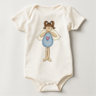 Angel Antics · Angel · Blue Baby Bodysuit