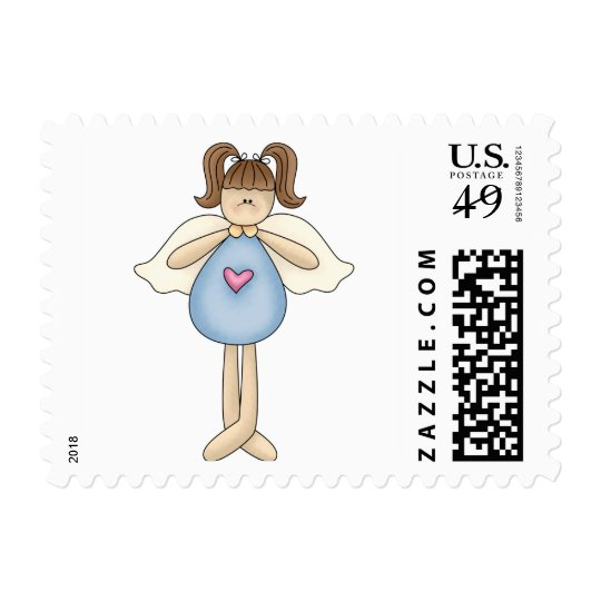 Angel Antics · Angel · Blue Postage