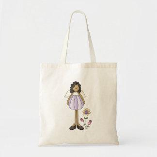 Angel Antics · Angel · Purple Canvas Bag