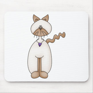 Angel Antics · Cat Mouse Pad