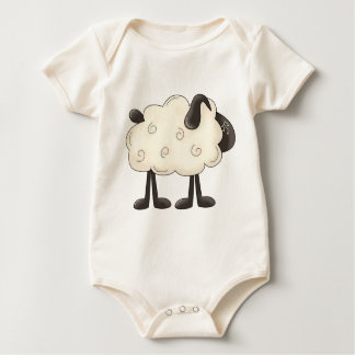 Angel Antics · Sheep Baby Bodysuit